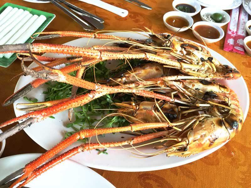 有團員太愛蝦子了,所以再多單點一盤蝦子,認真覺得….貴!