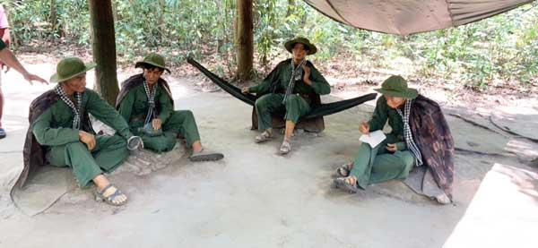 越戰時期越南人民軍的假人